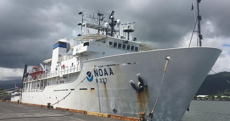 NOAA Research Vessel Samoa